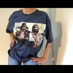 Vintage Cheech and Chong Tee Shirt Vintage Graphic